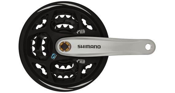 Shimano Altus FC-M311 Kurbelgarnitur 42/32/22 schwarz/silber